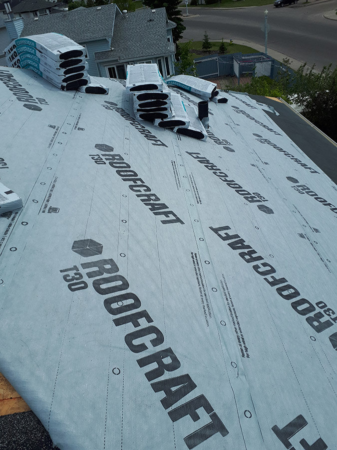 Roofcraft protection against water